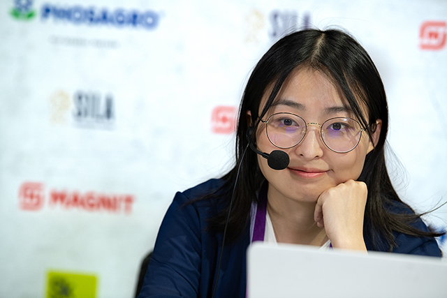 m 20190914 Skolkovo Women Grand Prix R04-22 Ju Wenjun CHINA